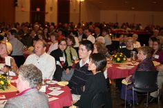 2010 Scholarship Dinner.  Incorporating our maroon and gold anniversary colors.   #donorlove #events