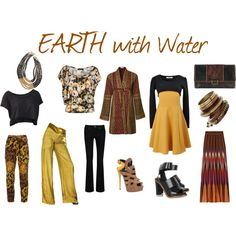 EARTH with Water, created by expressingyourtruth on Polyvore