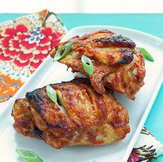 "I Breathe... I'm Hungry...: ""Cheater's"" Tandoori Style Chicken Thighs"