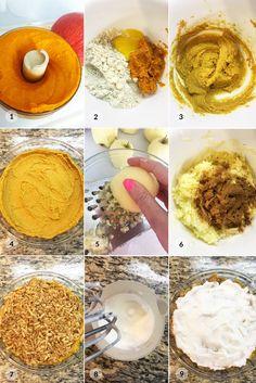 Fitness hraběnčin koláč z jablek a dýně - postup receptu Healthy Meals, Healthy Recipes, Hummus, Fitness, Ethnic Recipes, Food, Clean Eating, Healthy Food Recipes, Eten