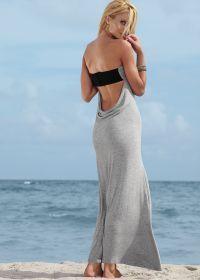 Aqua Low Cowl Back Maxi Dress   $39.00