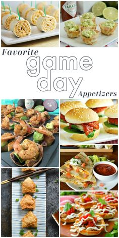 Get ready for the big game with these favorite and best Game Day Appetizer Recipes ...literally something for every crowd and every budget! But don't make just one, make ALL of the game day recipe ideas and you'll have a lineup fit for a championship game!! Finger foods, dips and even gameday sandwich recipes ... everything you need for your football party, tailgate celebration or even just perfect for watching the games at home!