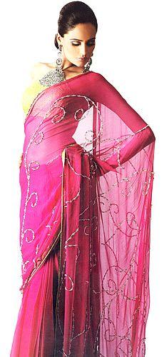 sari | Sheer Sari | Desi Style Check | Pakistani & Indian Fashion Clothing ...