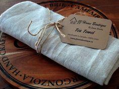 Linen Kitchen Tea Towel x 20 by JJHomeBoutique on Etsy Linen Towels, Hand Towels, Tea Towels, Reusable Tote Bags, Colours, Kitchen, Coupon, Handmade, Label