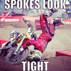 Yep, spokes are good.