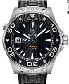 Tag Heuer Aquaracer 500M Calibre 5 Dive Watch | aBlogtoWatch