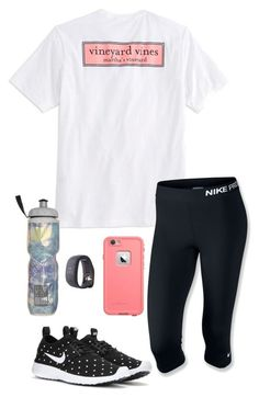 New Years Resolution Tag! by toonceyb ❤ liked on Polyvore featuring Vineyard Vines, NIKE, Victorias Secret and adidas