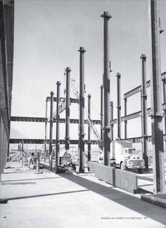 Los cimientos de lo que hoy es la Torre de Rectoría fueron instalados a inicios de los años 60.