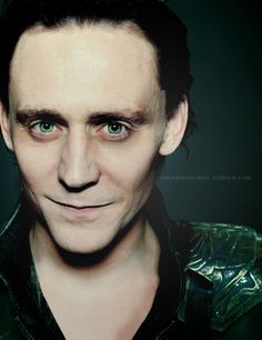 A little haggard there, Loki. Been up all night plotting?  ^----I'll stay up with you.