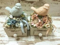 Easter Projects, Diy Projects To Try, Easter Crafts, Spring Crafts, Holiday Crafts, Bird Nest Craft, Deco Nature, Arte Floral, Vintage Easter