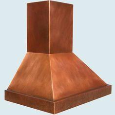Copper  Range Hood  # 3827
