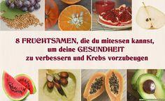 Du kannst Fruchtsamen essen Quatsch!Diese Reaktion bekomme ich meist von Menschen denen ich erzähle, dass ich Apfelsamen esse (oder eher, das Innenleben des Apfels) oder Samen der Wassermelone. Im Gegensatz zum weit verbreiteten Glauben, werden dich diese Samen nicht vergiften, und es wird auch keine Mini-Pflanze in deinem Bauch wachsen. Tatsächlich enthalten ganz viele Fruchtsamen