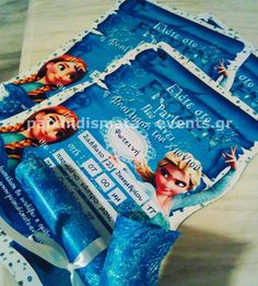 INVITATION FROZEN PARTY