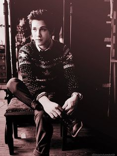 Logan Lerman. My inappropriate crush because he's my little brothers age lol