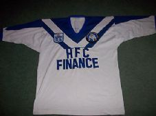 Canterbury Bankstown Bulldogs 1980s Rugby League Shirt Adults Large Sydney Australia