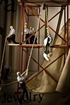 lisa golightly: Kleinfelds Window Stories