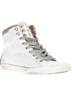 Crime Studded Hi-Top Sneaker