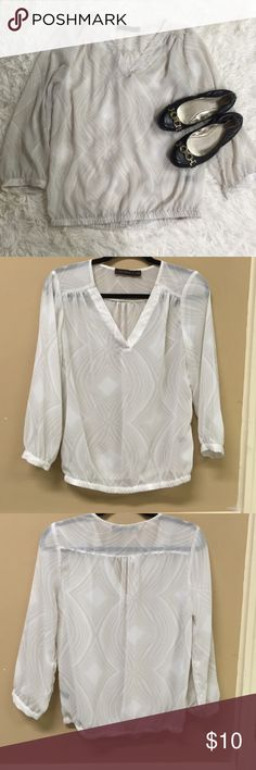 The Limited sheer blouse size medium The Limited sheer blouse size medium The Limited Tops