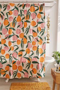 Peaches Shower Curtain!