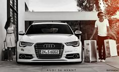 Audi s6 before a WD