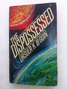 """""""The Dispossessed"""" by Ursula L. Le Guin    The anthropologist queen - one of the great works of political science fiction - for that special someone who overuses the word 'capitalism'.    Avon (date unknown - suspect 1975). (unknown printing suspect 11th). 12mo. 311pp...sounds like somehthing i should read!"""