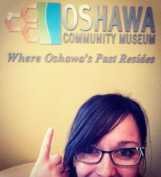 Our last #museumselfie - we are so proud to be where #oshawa's past resides! Come visit your museum!! #oshawamuseum #history #lovelocal #museum #museumlife #iheartmuseums