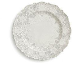 Merletto Antique Dinner Plate traditional dinnerware
