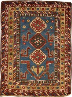 Lot 3258. A KAZAK RUG. Caucasus size approximately 3ft. 1in. x 4ft. 1in. US$ 1,000 - 1,500