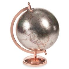 Copper Glace - Globus H 29 cm Rose Gold Rooms, Rose Gold Decor, Gold Home Decor, My New Room, My Room, Gold Bedroom, Bedroom Decor, Deco Rose, Copper Decor