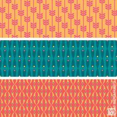 Veronica Galbraith • Surface Pattern Designer • Honeysuckle • Coordinates
