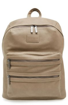 The+Honest+Company+'City'+Faux+Leather+Diaper+Backpack+available+at+#Nordstrom   $150