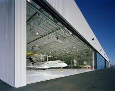 Bombardier Maintenance Hangar, Bradley International Airport, Windsor Locks, Connecticut, USA
