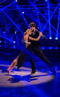 Jay McGuiness dances an argentine tango on Strictly:The winning team from S.C.D 2015.