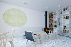 Salon styl Skandynawski - zdjęcie od Vostok Design - Salon - Styl Skandynawski - Vostok Design