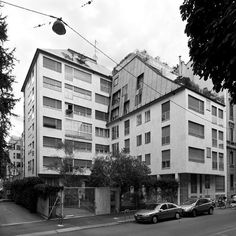 TÉCHNE Wood Architecture, Facade, Milan, Multi Story Building, Street View, Places, House, Image, Towers