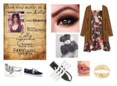 """Daughter of Demter Camp Half-Blood ID"" by lostprincessofthesea ❤ liked on Polyvore featuring Charlotte Tilbury, Accessorize, Keds, Forever 21, Zara and Nature Girl"