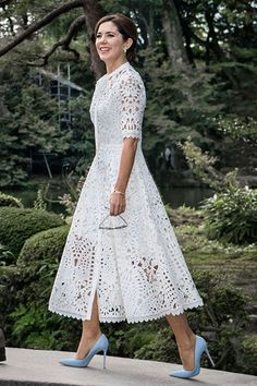 38 Popular Lace Dress Ideas Surely You Want To Wear It - There are numerous plans of dresses that will consistently be in style consistently. Lace semi-formal dresses are perhaps the most established style f. Lace Outfit, Boho Dress, Dress Skirt, Dress Outfits, Lace Dress, Fashion Dresses, Dress Up, Maxi Dresses, Eyelet Dress
