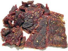 sušené maso - Hledat Googlem Terriyaki Beef, Beef Flank Steak, Liquid Smoke, Teriyaki Sauce, Beef Jerky, Appetizers, Snacks, Meat, Food