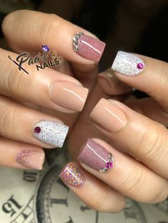 Nail Design Makes Your Nails Thin,It Turns Out That This Is Not Your Illusion - Page 13 of 21 - Dazhimen Sassy Nails, Love Nails, Fabulous Nails, Gorgeous Nails, Mettalic Nails, Exotic Nails, Finger, Sparkle Nails, Best Acrylic Nails