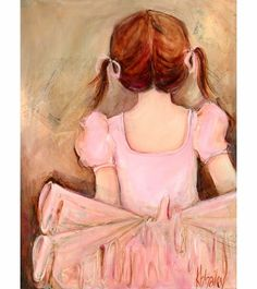 Sweet Ballerina - Brunette Canvas Reproduction - one of my favorites!