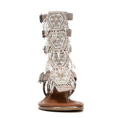 aacc81968b659 Carlos BY Carlos Santana Women s Taos Gladiator Sandals (Doe Fabric) - 9.5  M Carlos