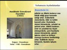 Abdulhalık Goncduvani Hazretleri - 2 | Yolumuzu Aydınlatanlar | www.ehli...