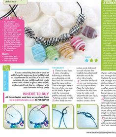 #ClippedOnIssuu from Creative Beads and Jewellery 23