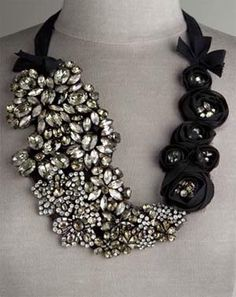 Vera Wang DIY statement necklace