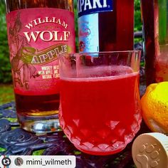 Happy 4th of July! What kind of cocktail will you be celebrating with on America's Birthday?  Repost from mimi_wilmeth  on Instagram #AppleWhiskey #4thofJuly    Happy Negroni Week from @williamwolfwhiskey  William Wolf Apple Whiskey ✔️  Campari ✔️  Lemon  Orange Bitters .