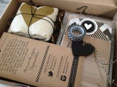 """One of our first """"I LOVE YOU"""" boxes of stationery goodness arrived safely at Kim Grays offices."""
