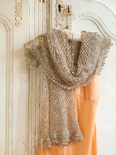 Summer Evening Shawl, pattern in Cute and Easy Crochet by Nicki Trench