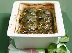 Découvrez la recette Feuilles de blettes farcies à la viande sur cuisineactuelle.fr.