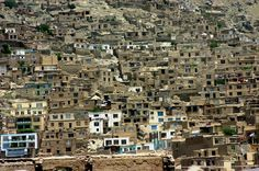 The mountain homes of kabul