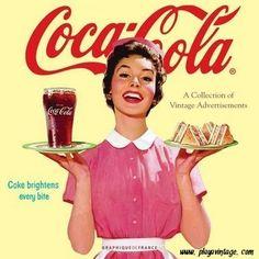 Coca-Cola and Sandwich Vintage
